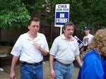 CWA On Strike Against SBC - May 21, 2004