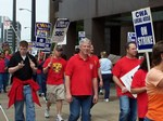 CWA On Strike Against SBC - May 21, 2004